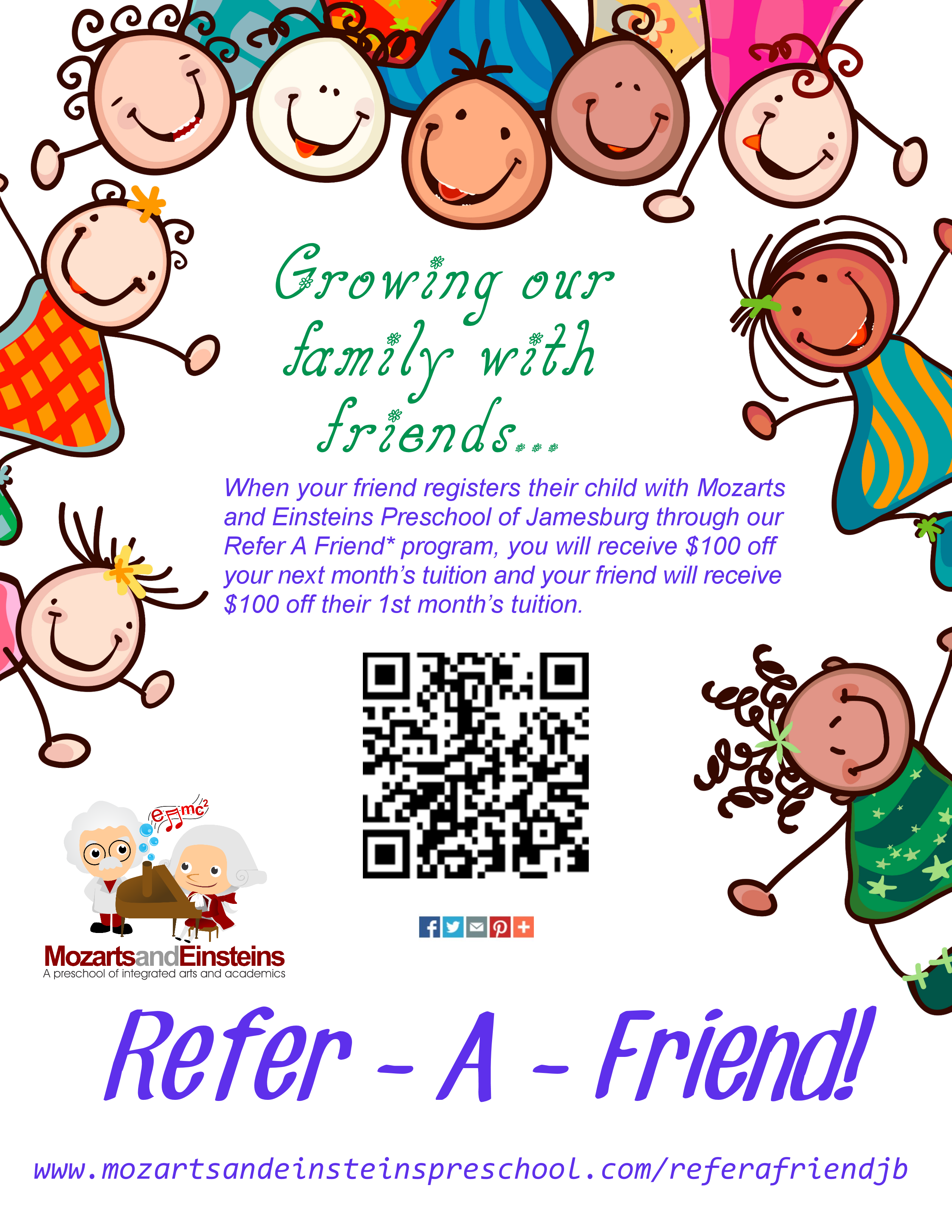 Begin Saving On Tuition In The Month Of June And July With Our Refer A Friend Promotion Click Link For More Information To